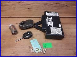 03 Saab 9-3 TWICE control unit module WITH KEY cylinder ignition OEM 5262704