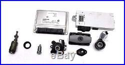 04-05 Bmw (e60) Ecm & Cas Engine Control Module Ignition Lock Cylinder & Key Set