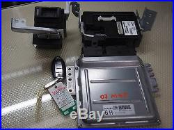 06-09 Infiniti M45 Ecu Engine Control Module Body Unit Ignition Switch With Key