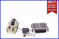 06-09 Mercedes W209 CLK350 ECU Engine Module Gear Shift Ignition Switch Key A81