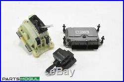 06-09 Mercedes W211 E350 ECU Engine Module Gear Shift Ignition Switch Key
