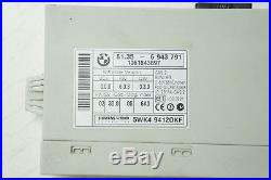 06-11 BMW 325i E90 ECM ECU ENGINE COMPUTER & ANTI THEFT CONTROL MODULE UNIT OEM