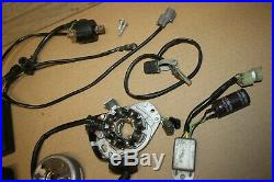 1997-98 Honda CR250R CDI Control Module, Ignition Coil Stator Magneto Flywheel
