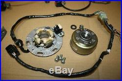 1998 Yamaha YZ125 CDI Control Module, Ignition Coil Stator Magneto Flywheel