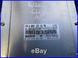 2000 Mercedes C Class W202 C220 CDI 2.2 Diesel Engine Ecu Key Esl Set 0001531379