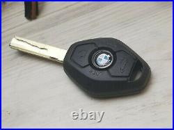2004 BMW 530i ECU ENGINE CONTROL CAR ACCESS MODULE W IGNITION SWITCH & NEW KEY