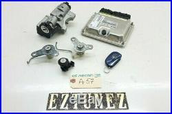 2005 Maserati Quattroporte M139 Ecu Igntion Key Remote Door Locks Set Oem