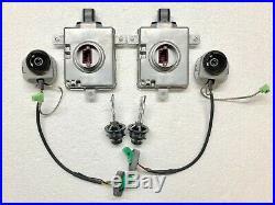 2x New For 11-17 Honda Odyssey Xenon Lamp Ballast Igniter Bulb Kit Inverter Unit
