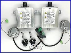 2x New OEM 06-14 Acura TL-S Xenon Ballast Igniter & HID D2S Bulb 33119-SEP-H01