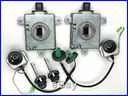 2x New OEM 07-14 Acura TSX Xenon Ballast Igniter & Bulb HID Headlight Set