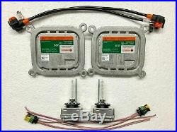 2x New OEM For Lincoln MKC MKS MKT MKX Xenon Ballast & D3S Bulb Kit Control Unit