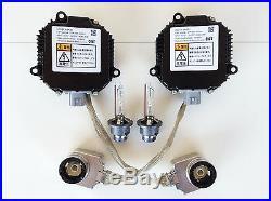 2x New OEM HID Headlight Ballast Igniter & D2S Bulb for 07-09 Nissan 350 370Z