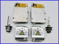 2x OEM Audi A8 S8 A8L A6 S6 Xenon Ballast Igniter HID D2S Bulb Kit Control Unit