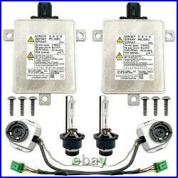 2x OEM For Mitsubishi Xenon Ballast Igniter Light HID D2S Bulb Control Unit Kit