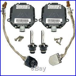 2x OEM For Nissan 350Z Altima Maxima Xenon Ballast Igniter & HID D2S Bulb Kit