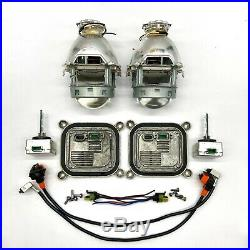 2x OEM Ford Mustang Lincoln Xenon Ballast & D3S Bulb Projector Kit Control Unit