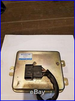 89 MITSUBISHI STARION CHRYSLER CONQUEST Ignition Control Module MD125748 knock b