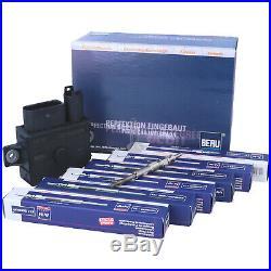 BERU Glühsteuergerät GSE108 0522140701 6 Zylinder BMW + 6 Glühkerzen ET106002