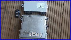 BMW 2011 F10 535i N55 DME ECU KEY CAS4 OEM 7632115 9257038