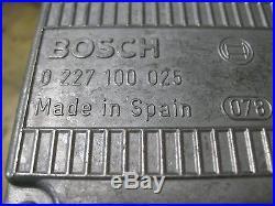 bmw bosch new ignition control module e24 e30 e23 0 227. Black Bedroom Furniture Sets. Home Design Ideas