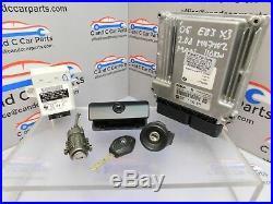 BMW E83 X3 Lock Set 1 Key DDE ECU 2.0D M47 Manual 110kW EWS3 6941986 7796571 91