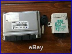 BMW X5 E53 E39 540 E38 750 4.4i M62TU DME EWS ECU ECM PCM Engine Computer Set