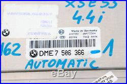 BMW X5 Series E53 4.4i M62 ECU Kit DME EGS EWS3 Steering Column Key 7506366