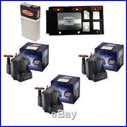 Delphi Ignition Control Module + (3) Herko Ignition Coils For Buick Chevrolet
