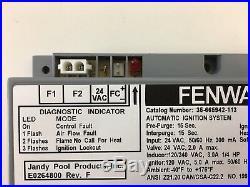 Fenwal Ignition Control Module- Laars- Jandy- Pentair Pool Heaters 35-665942-113