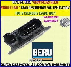 For 7 Series 3.0 730 740 F01/02/03/04 2008 Glow Plug Relay Control Module Unit
