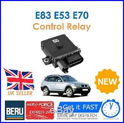 For BMW E83 E53 E70 X3 X5 3.0D 3.0SD BERU 12V Diesel Glow Plug Control Relay New