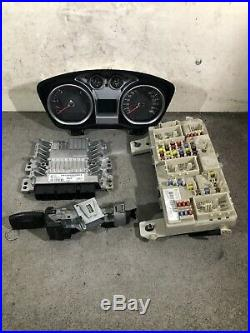 Ford Focus Mk2 2007-2011 Lockset, Ecu, Transponder + Speedo 7m51-12a650-bce