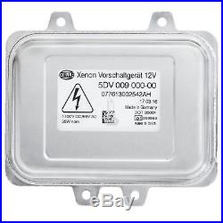 HELLA Xenon Scheinwerfer Steuergerät 5DV 009 000-00 Vorschaltgerät Ballast NEU