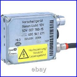 Hella 5DV00776015 D2S-D2R Xenon Scheinwerfer Vorschaltgerät Steuergerät für Audi