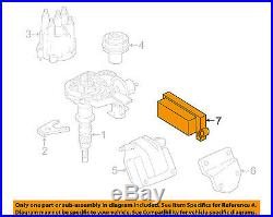 Jeep CHRYSLER OEM 2002 Wrangler 4.0L Ignition System-Control Module 56041945AH