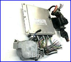 MERCEDES BENZ CLK320 W208 AT ECU ECM EIS Engine Computer Unit Key Fob Set