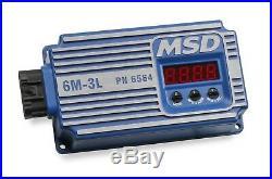 MSD 6564 Digital 6M-3L Marine Ignition CONTROL MODULE BOX