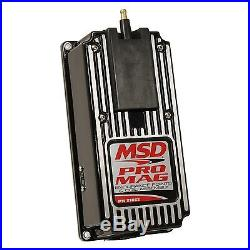 MSD Ignition 81063 Pro Mag Electronic Points Box Control Module 12 Amp Black