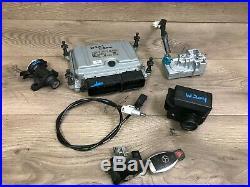 Mercedes Benz Oem W204 C300 Dme Engine Motor Computer Set With Key 3.0l V6 08-12