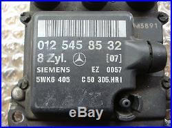 Mercedes Sl 129 Sl500 500sel S500 Ignition Control Module Ezl 012 545 85 32