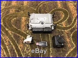 Mercedes W221 S550 Ecu Dme Engine Control Module Key Door Lock Ignition Oem