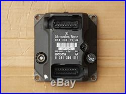 Mercedes-benz C-class W202 Pms Ecu Ignition Module. 0185451132. Bosch