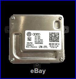 NEW OEM Audi & VW LED Xenon Headlight Ballast Control Module 4G0.907.697. G