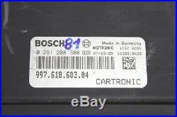 Porsche 997 Carrera 911 Key Ignition Switch Immobilizer ECU Module Control Unit