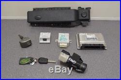 Range Rover L322 4 4 Ignition Set Kit Lock Key Ecu Control Module 02