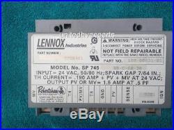Robertshaw Ignition Control Module Lennox 97H0401 100-00831-01 SP745 NR-C-60-30