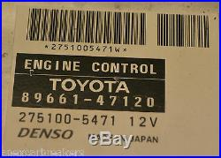 Toyota Prius ECU Set 89661-47120 Prius 1.5 vvti Hybrid Ignition Barrel Set 2007