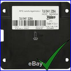 Valeo Xenon Scheinwerfer AFS Leistungsmodul für Kurvenlicht 7L6 941 329C