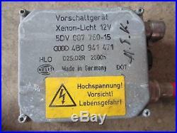 Vorschaltgerät XENON Audi A3 8L A6 4B HELLA Steuergerät 4B0941471